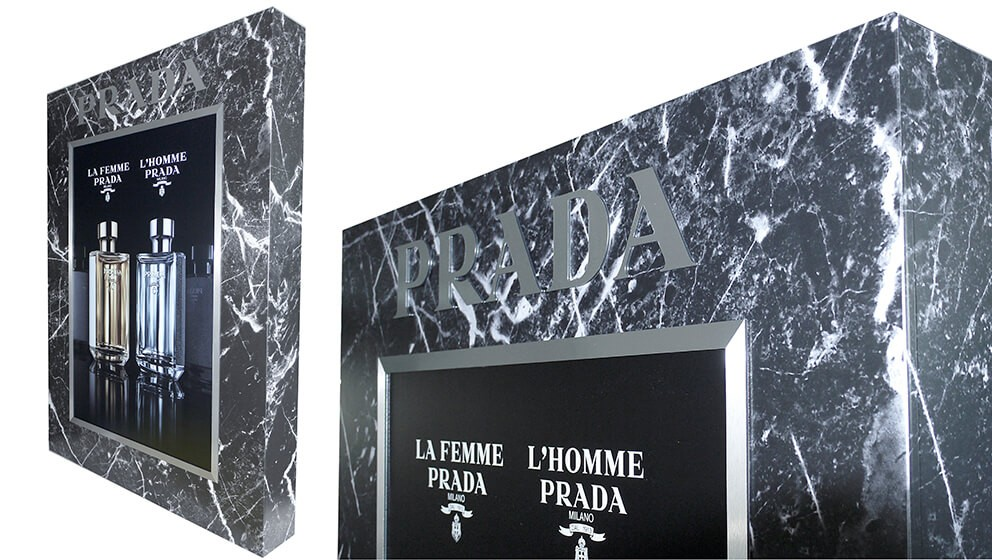 retail - prada-3d display