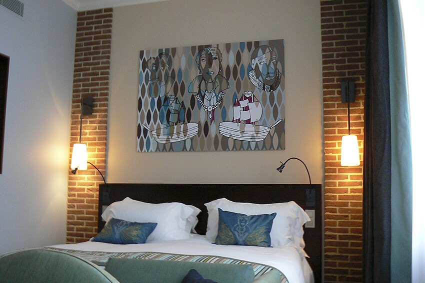print op dibond - wanddecoratie