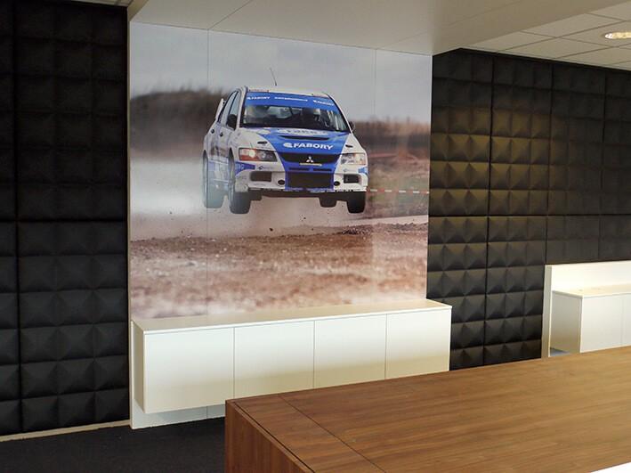wanddecoratie - forex panelen - fotprint