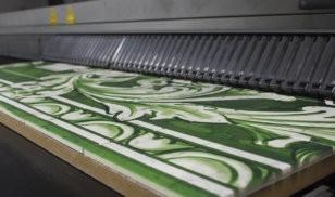 Grootformaat prints-fotovergroting-print op plaatmateriaal-Tegelprin