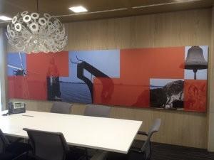 Interieur - wanddecoratie - grootformaat print