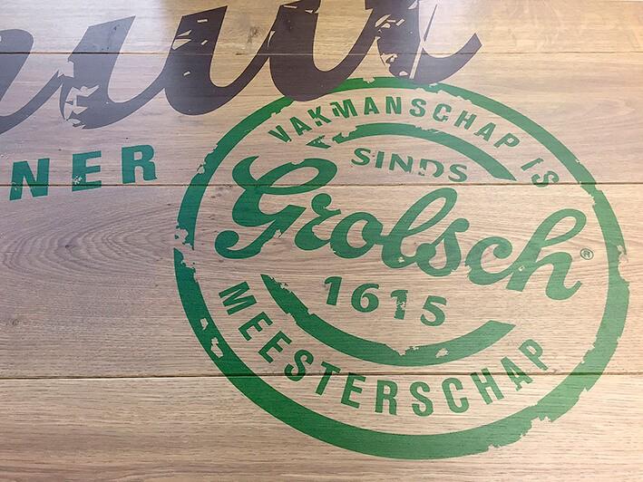 houten tafelblad-print op hout