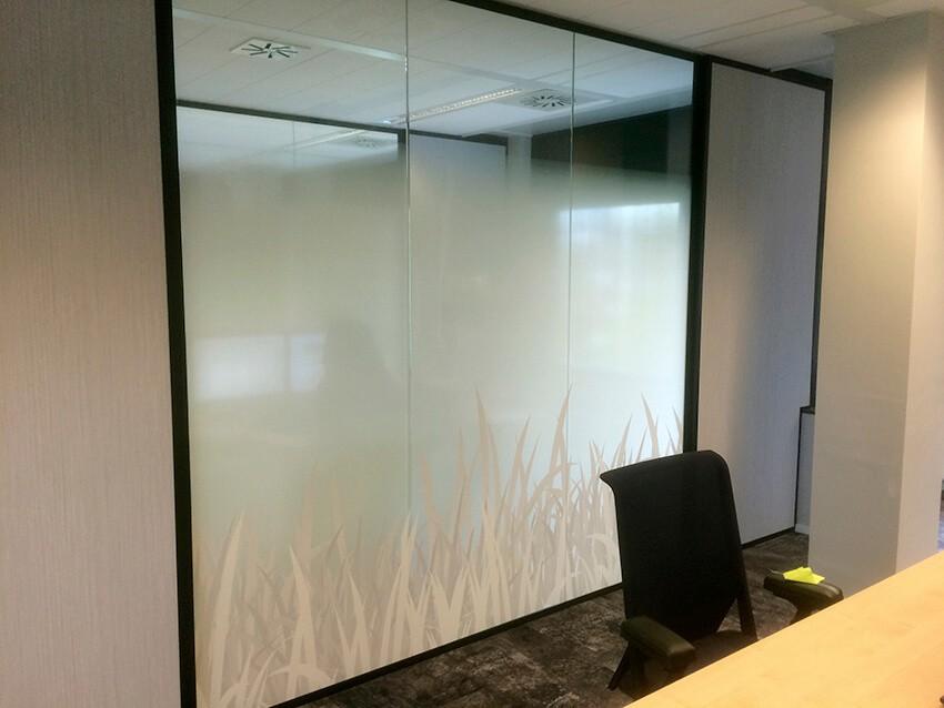 raamfolie - glasfolie - raamdecoratie - Clearview - raambelettering