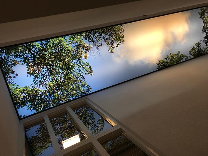 verlicht plafond img groep ledverlichting als interieurdecoratie