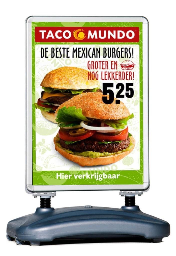 stoepbord - poster - reclame