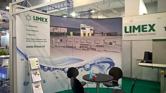 limex wand - beurswand - beursstand