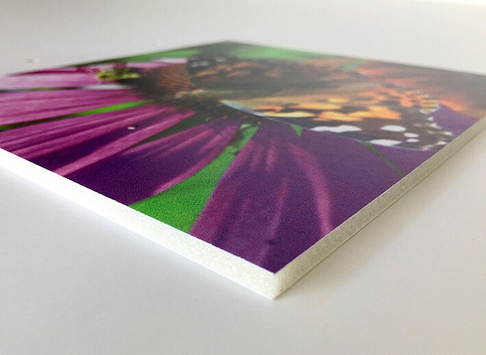 Foam - print op foam - maquettemateriaal - display