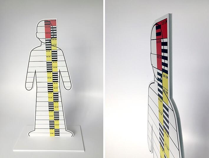 foam - print op foam - display - maquettemateriaal