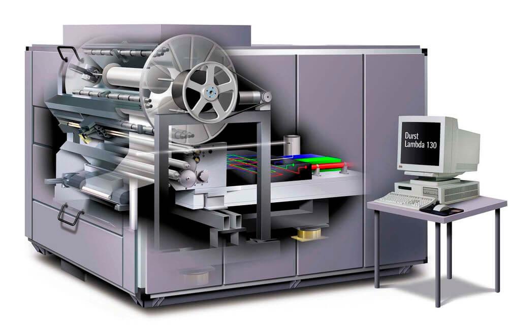 C-print lambda- fotobelichter