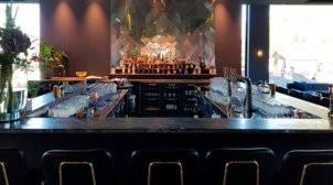geprinte antiek look spiegel van der Valk hotel Amstel Amsterdam